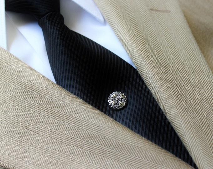 Tie Pin, Tie Tack Pin, Men's Tie Tacks, Tie Tac, Silver Tie Clip, Tie Clips Men, Wedding Tie Clip, Silver Tie Tack, Gift for Dad