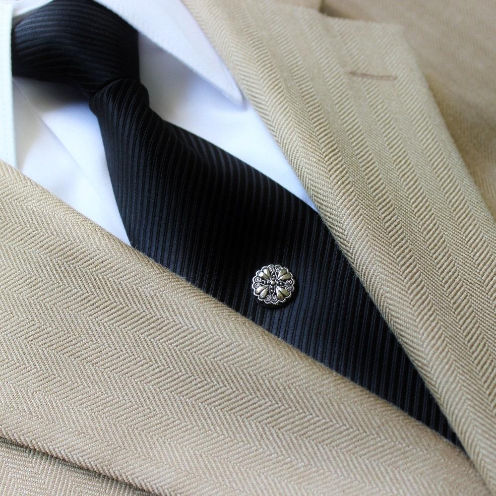 Tie Pin, Tie Tack Pin, Men's Tie Tacks, Tie Tac, Silver Tie
