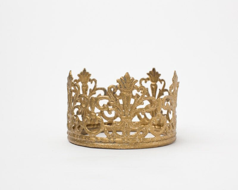 Plastic Crown Cake Topper