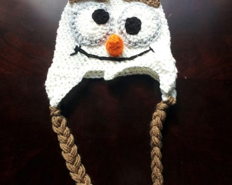 Snowman Hat- made to order