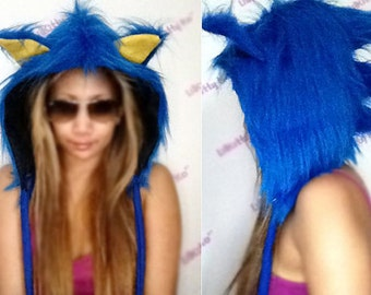 Custom - SONIC Hedgehog Hoodie ONLY - Made to Order