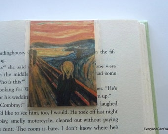 Munch Magnetic Bookmark - The Scream