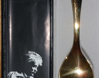 Sterling Silver  Georg Jensen Year Spoon for 1973