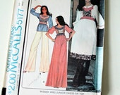 Marlo Thomas Vintage 1976 McCalls Uncut Sewing Pattern # 5177 size 10, 32-1/2 bust