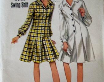 Butterick 4457 Womens Shift Dress Sewing Pattern Bust 32