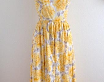 1980s Floral Sundress by Lanz Origianls