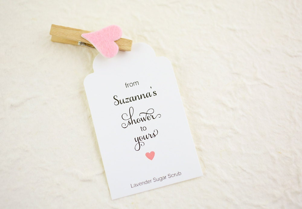 Wedding Shower Favor Tag Template : Unavailable Listing on Etsy