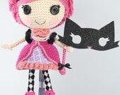 PATTERN: Confetti Crochet Amigurumi Doll
