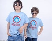 Biggest Brother and Big Brother T-Shirts or Infant Bodysuit - Superhero Big Brother Gift Set (2 shirts) - Matching Sibling Shirts