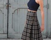 Kilt Style Skirt