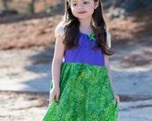 Ariel Dress, The Little Mermaid Dress, Disney Inspired Dress, Princess Dress Up, Girls Costume, Halloween Costume