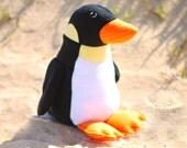 Black Penguin Plush