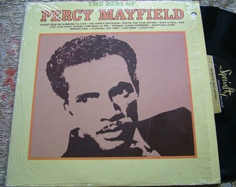 Percy Mayfield Best Of Specialty Records LP Vinyl 1970 Original Pressing R&B Blues Soul Early Rock And Roll