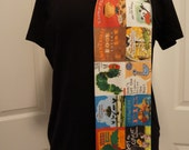 Children's Picture Books knit scarf (REGULAR STYLE) - made to order