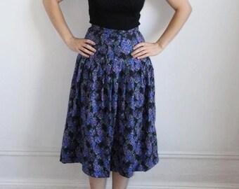 S A L E - Laura Ashley High Waisted Skirt - S