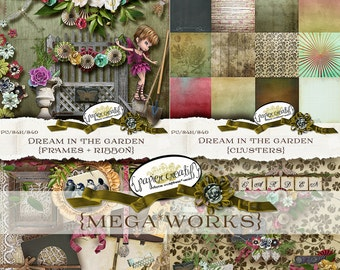 Dream in the Garden Mega*Works Collection by Papier Creatif - Gardening Kit