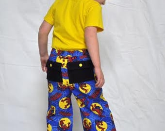 Cargo Pants sewing PDF pattern for boys, boys pants sewing pattern, boys pant sewing pattern, sewing, pdf, pattern, cargo, pockets