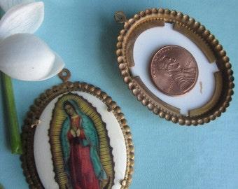Vintage Religious Cabochon
