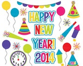 happy new year clipart clip art new years - Happy New Year Clipart