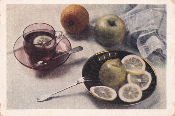 Vintage Photo by Zivert (Still Life) Postcard - 1950