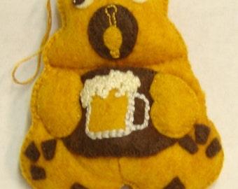 BEER Bellie Bear by Tess Wentz of Tess Creates