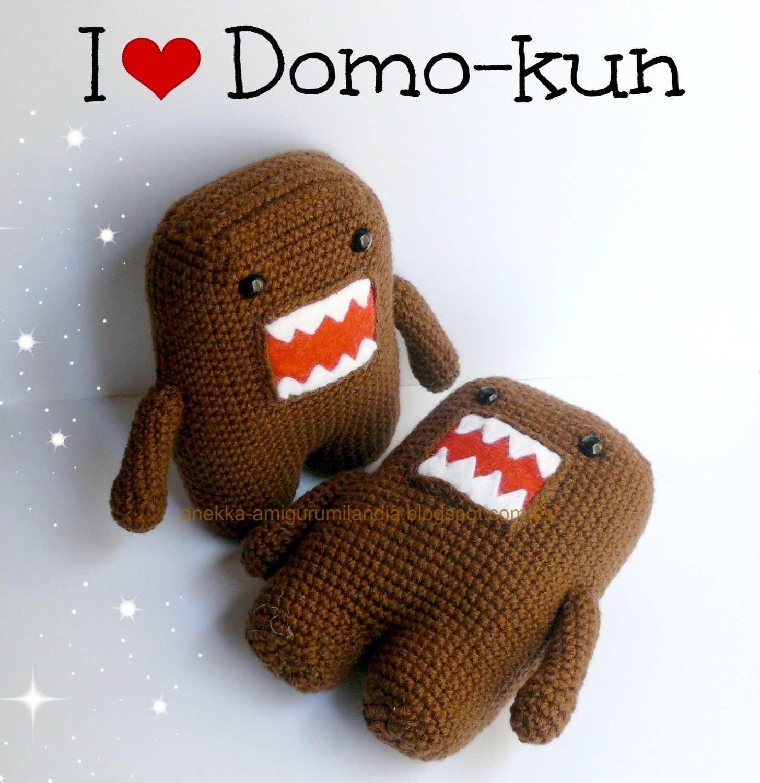 Domo-kun Plushie Amigurumi crochet domokun doll soft toy