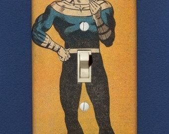 Bullseye - Super Villain Light Switch Plate