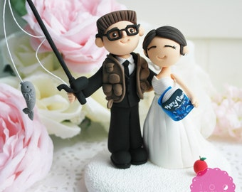 wedding cake toppers high five custom wedding cake topper high five by 26493
