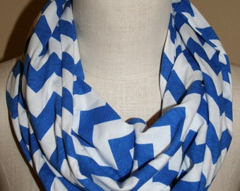 """Infinity Scarf Chevron Circle Loop Scarf  9"""" x 64"""" L - Lot of 5-Mix and Match-Wholesale lot-Choice of colors"""