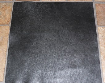 "Leather 12""x20"" BOMBER KING Charcoal Slate Marbled SOFT thick Cowhide 3-3.25oz / 1.2-1.3mm PeggySueAlso™ E2882-04"