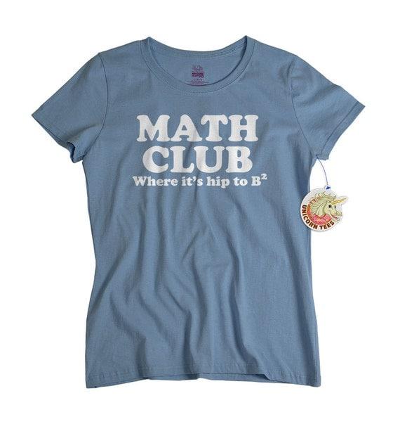 Ladies math t shirt funny geekery mathematics womens tshirt