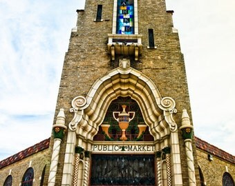 Fort Worth, Texas, Building, Architecture, National Register of Historic Places - Public Market Front Tower