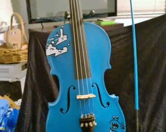 Custom painted Violin