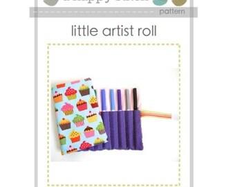 Little Artist Roll Pattern--PDF pattern