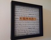 After All This Time? Always. Harry Potter Quotes Always Scrabble Print - Perfect gift for any wizard or muggle!