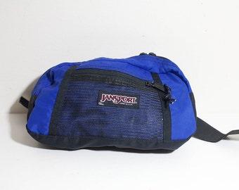 Cobalt Blue Jansport Fanny Pack