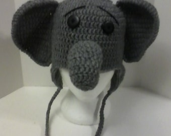 Adult Elephant Hat - Available in various colors!
