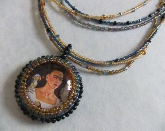 Peyote Stitch Custom Necklace