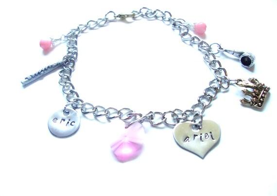 ariel charm bracelet