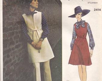 Belinda Bellville Jumper Pattern Vogue Couturier Design 2414  Size 10
