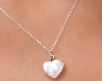 Heart-Shaped Fresh Water Pearl