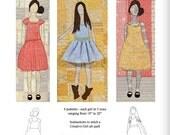 Happy Girls Pattern - Digital Download