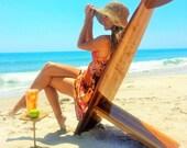 The Bombwatcher Classic Surfboard Chair