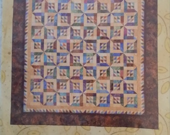 Sunshine & Shadow The Rabbit Factory quilt pattern