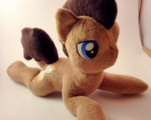 Doctor Whooves fan plushie, beanie plush, My Little Pony, Friendship is Magic