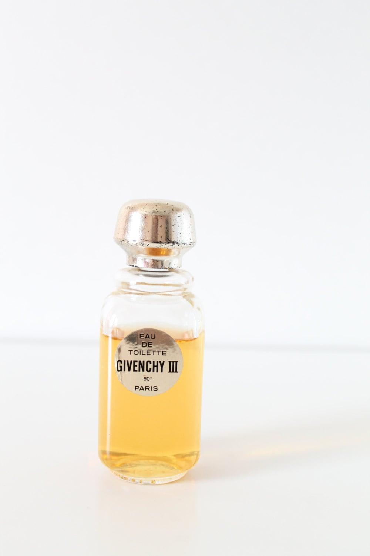 vintage givenchy iii eau de toilette perfume 2 fl oz size 90