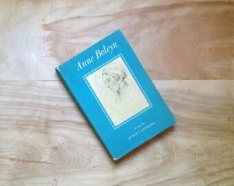 Anne Boleyn, 1957 - Blue Mid Century England