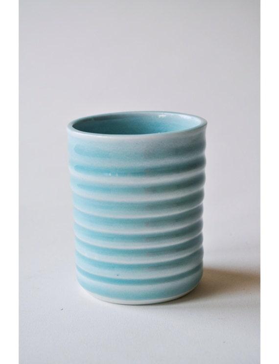 Items similar to handleless coffee tea mug on etsy - Handleless coffee mugs ...
