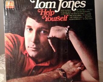 Vintage Vinyl Tom Jones LP Record Help Yourself 1968