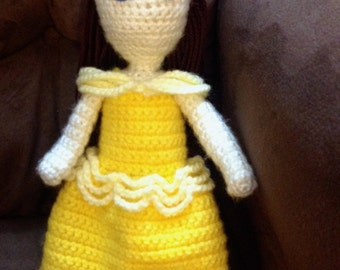 Belle's Yellow Ball Gown